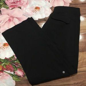 Lululemon men's black track pants